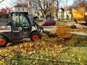 Yard waste & leaf collection begins the week of October 11, 2020