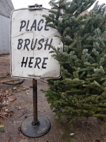 Holiday trees can also be delivered to the drop-off sites.