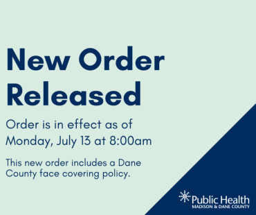 "A graphic that says ""New Order Released"""