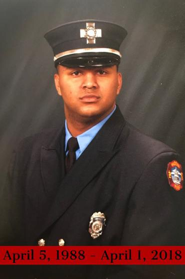 Firefighter/Paramedic Richard Garner