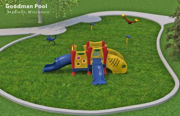 Goodman Pool playground