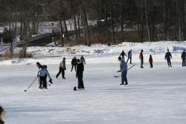 Skating at Elver Park
