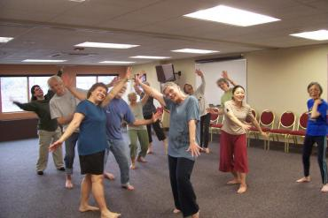 Li Chiao-Ping Leads Movement Class
