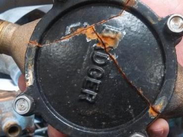 Cracked Water Meter