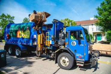 Curbside cart collections will begin at 6:30am starting March 16, 2020.