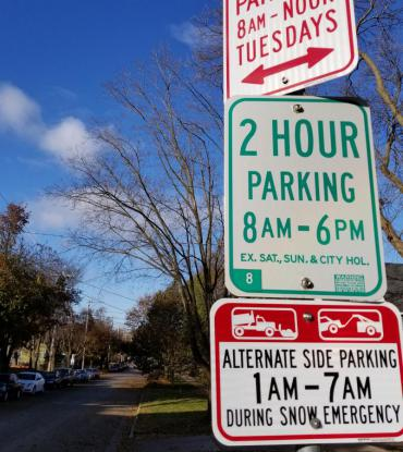 Image of Alternate Side Parking Sign
