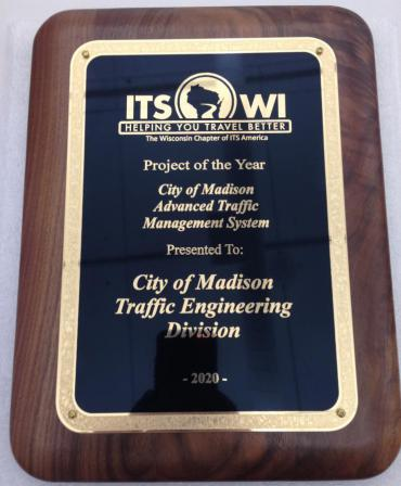 Image of Intelligent Transportation Society Award