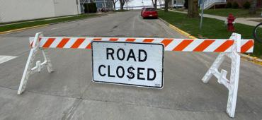 Road Closure Barricade