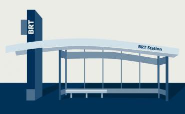 Metro BRT station