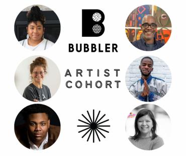 The Bubbler at Madison Public Library's New Artist Cohort