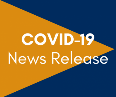 Graphic that says: COVID-19 News Release