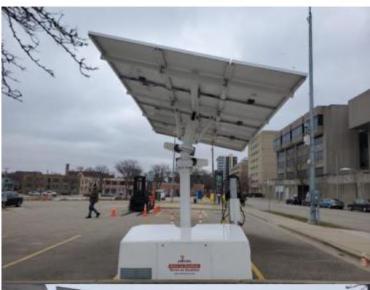 Brayton Lot Solar Panels
