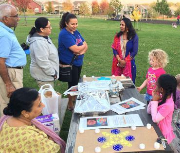 Diwali event in Secret Places Neighborhood 2017