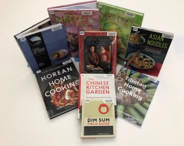 More than 50 East Asia Cookbooks added to collection at Madison Public Library thanks to CEAS grant