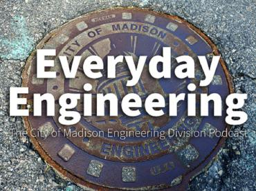 This photo shows the logo of the Everyday Engineering Division new podcast.