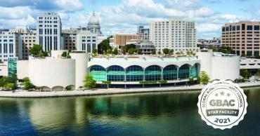 Monona Terrace Community and Convention Center has achieve GBAC STAR Accreditation, for implementing the most stringent protocols for cleaning, disinfection, and infectious disease prevention.