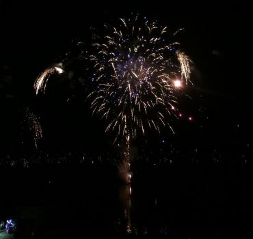 Fireworks at Shake The Lake
