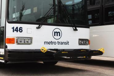 Picture of a Metro bus.