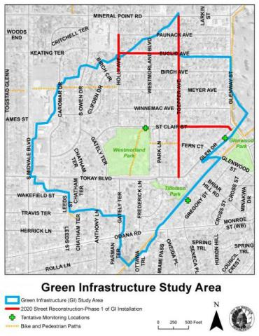 Green Infrastructure Study Area