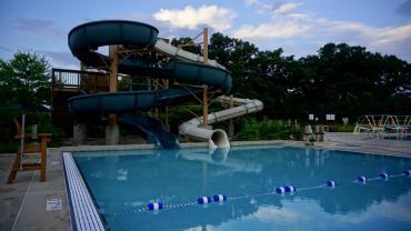 goodman pool sunrise with water slide