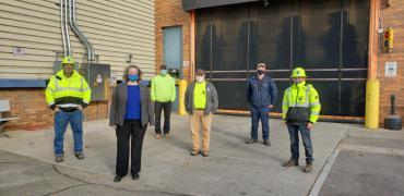 GreenPower Team with Mayor