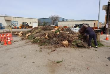 One way to help: only use the drop-off sites for what must be dropped off, like yard waste.