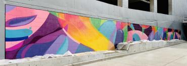 Mural on Wilson Street Garage