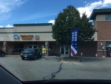 Meadowridge Library Absentee Voting Site