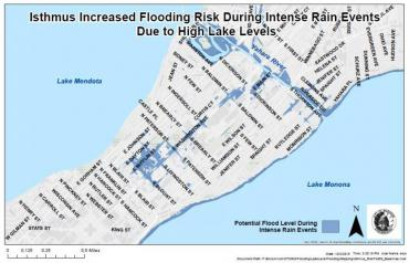Increased Flooding Risk Map