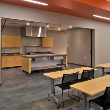 Kitchen at Meadowood Neighborhood Center & Meadowridge Library
