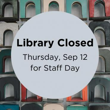 Library Closed September 12, 2019