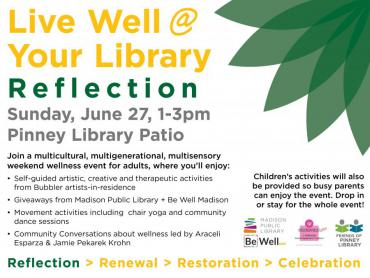 Live Well @ Your Library: Reflection