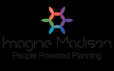 Imagine Madison Logo, People Powered Planning