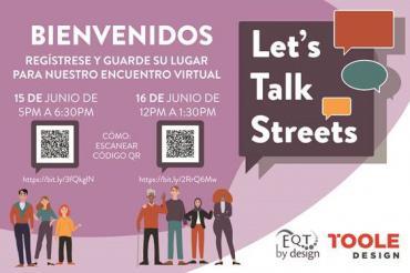 Imagen del cartel promocional de Let's Talk Streets