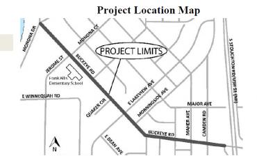 Project location map: Buckeye