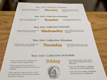 Get your new collection calendar on May 28