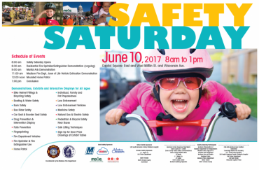 Safety Saturday event poster