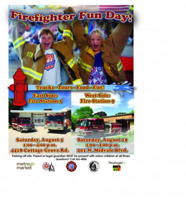 Firefighter Fun Day poster
