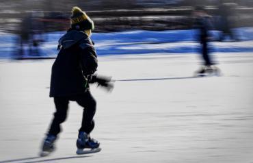 ice skating at tenney