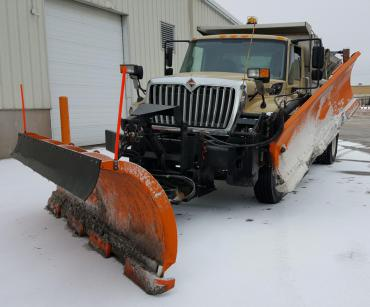 City of Madison plow truck, ready to get to work