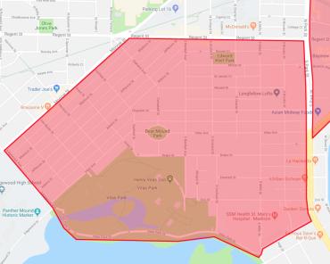 Greenbush/Vilas Snow Emergency Zone Expansion Area