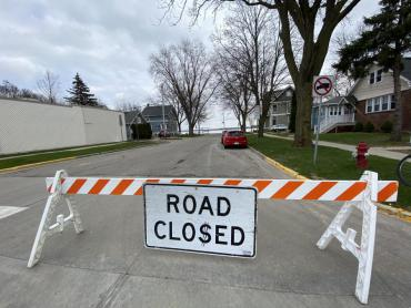 "Bike/Walk ""Shared Streets"" Closure image"