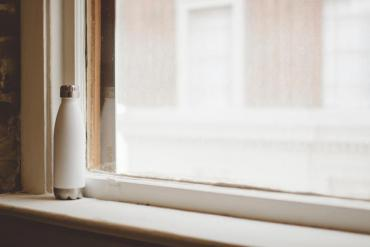 painted window sill