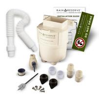 Picture of a Rain Reserve diverter kit for a single rain barrel