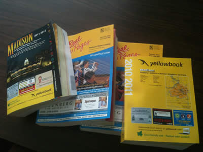 online store 9bcc4 1a0d0 In Madison you can receive as many as six different phone books every year.  Did you know that you can stop those phone books with a simple click of  your ...
