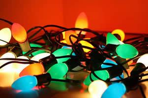 Holiday Light Recycling