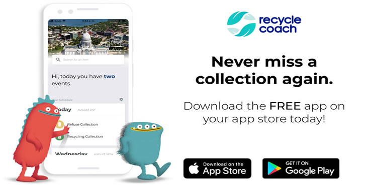 Download the Recycle Coach app today!