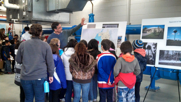 3rd graders tour Madison water well