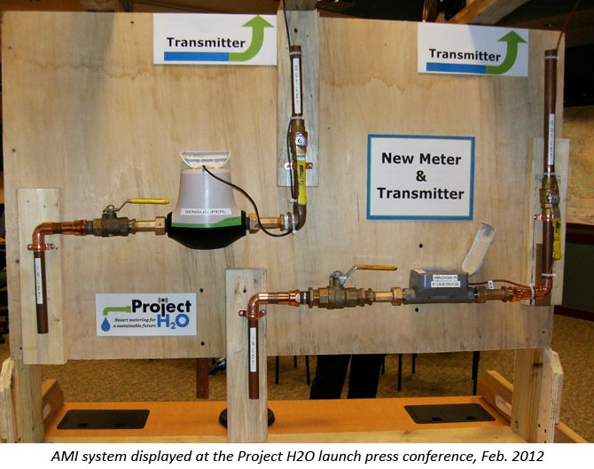 AMI system displayed at the Project H2O launch press conference, Feb 2012