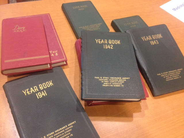 Collection of WWII-era journals